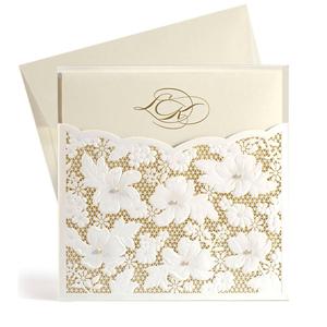 Винтажные приглашения на свадьбу