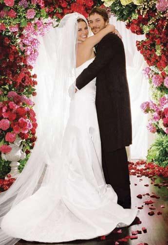 Свадебное платье Бритни Спирс от Monique L'Huillier