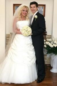 Свадебное платье Юлии Началовой