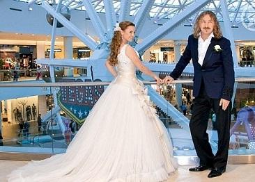 Свадебные платья богатых и знаменитых