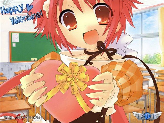 Аниме - День Святого Валентина (3)