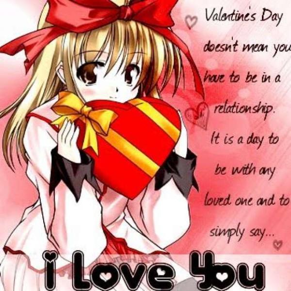 Аниме - День Святого Валентина (33)