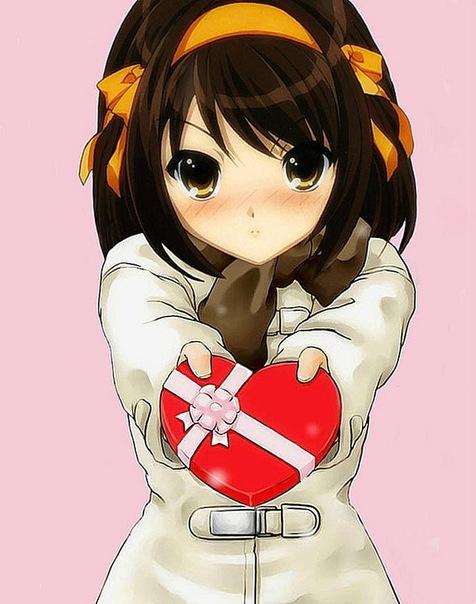 Аниме - День Святого Валентина (4)