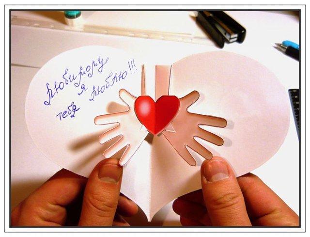Валентинки своими руками (16)