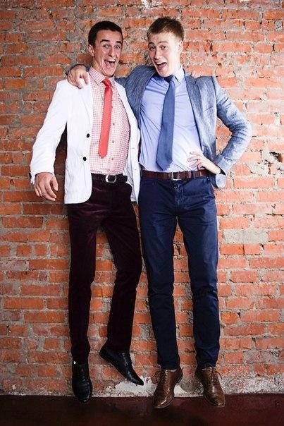 Роберт и Дмитрий