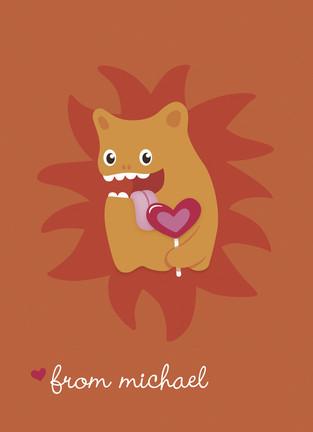 валентинки с забавными монстрами (3)