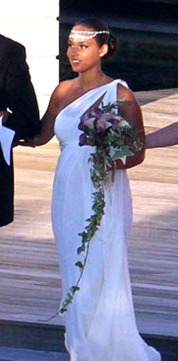 Свадебное платье Алисии Кис