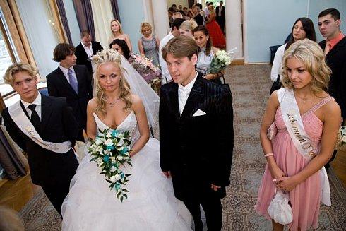 Свадебное платье Анастасии Горбоносовой