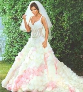 Свадебное платье Ани Лорак 2