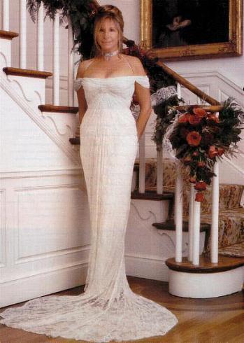 Свадебное платье Барбары Стрейзанд