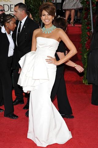 Свадебное платье   Евы Мендес  от  Dior