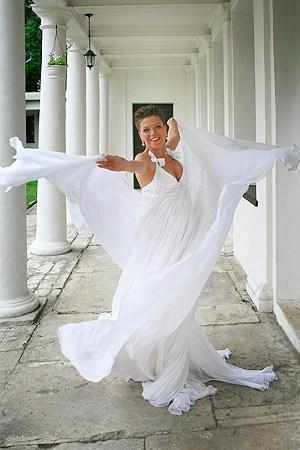 Свадебное платье  Полины Гагариной