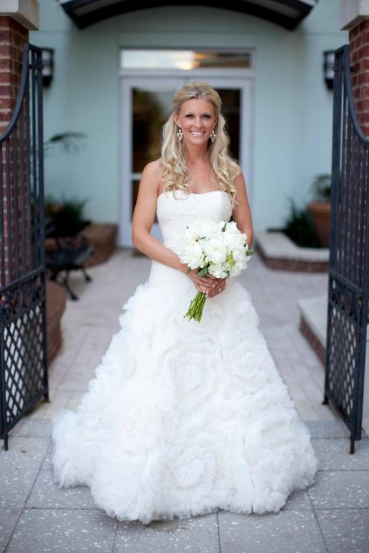 Свадебные платья звёзд
