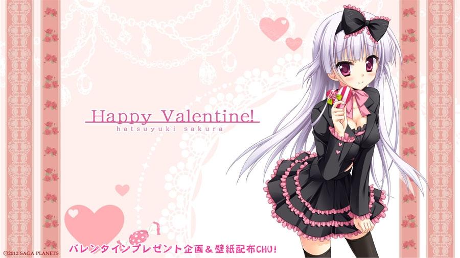 Аниме - День Святого Валентина (13)