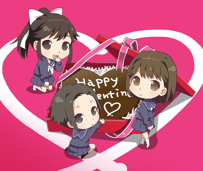 Аниме - День Святого Валентина (18)