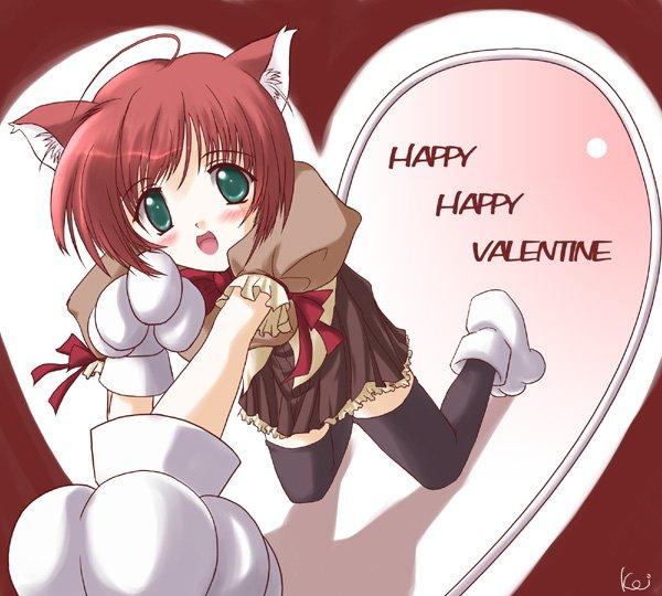 Аниме - День Святого Валентина (5)