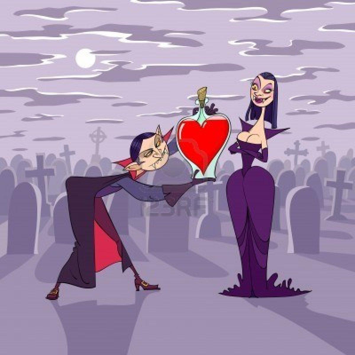 Вампирская валентинка