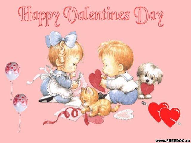 Открытки ко Дню всех влюблённых (117)