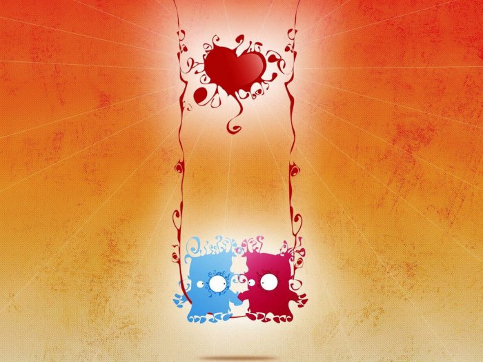 Открытки ко Дню всех влюблённых (74)