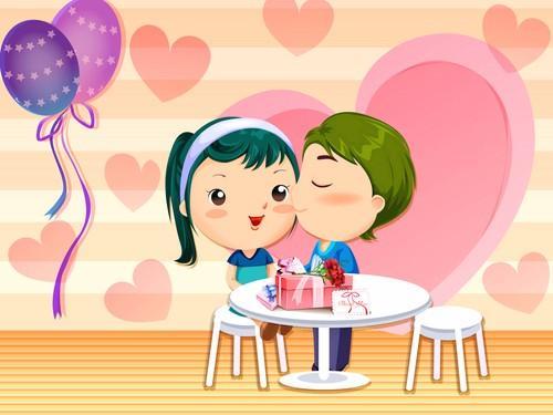 Открытки ко Дню всех влюблённых (79)