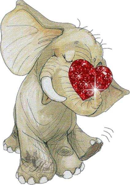 Открыток, день слона открытки