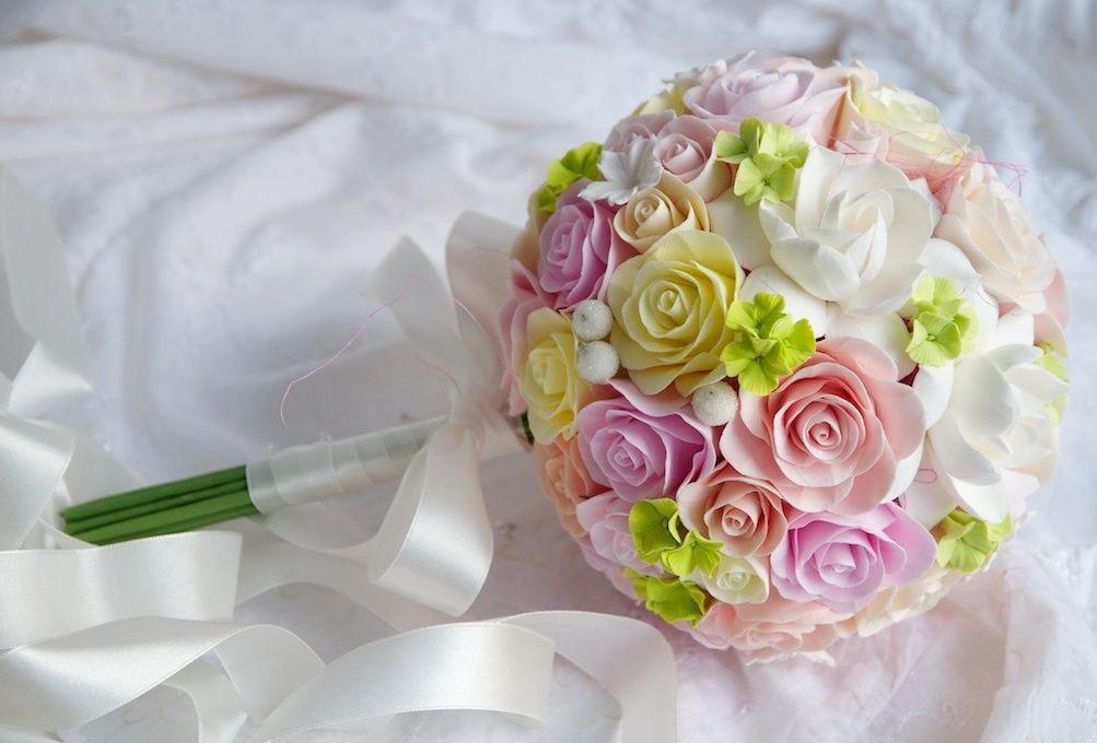 Цветы на венчание