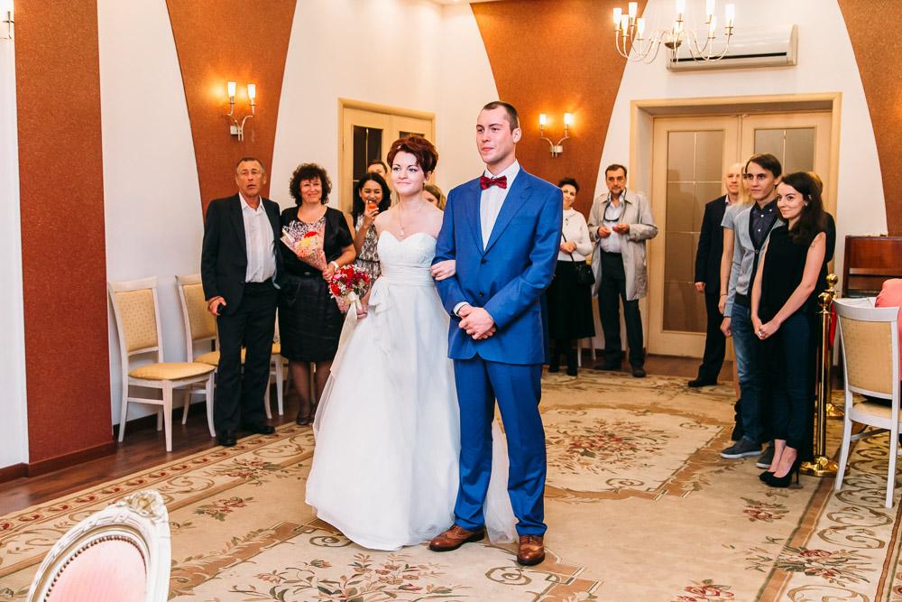 Церемония бракосочетани