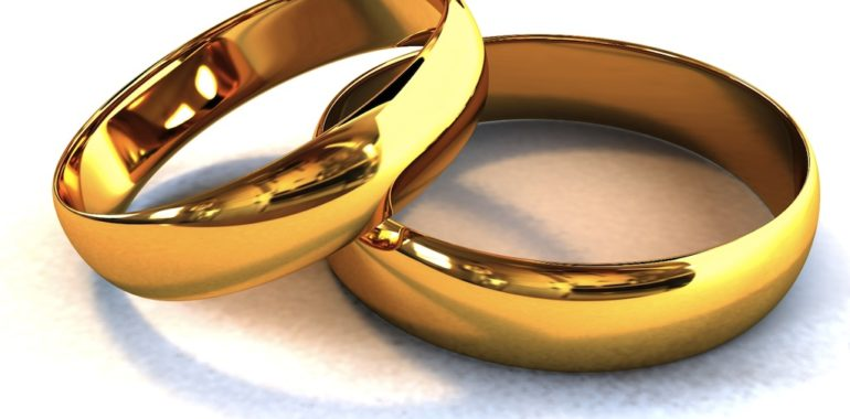 Как обручальное кольцо носят в России  история традиции 73847bcfb9789