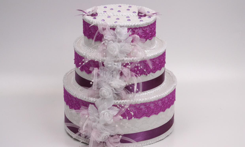 Сундучок в форме торта