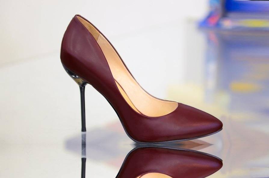 Туфли марсала